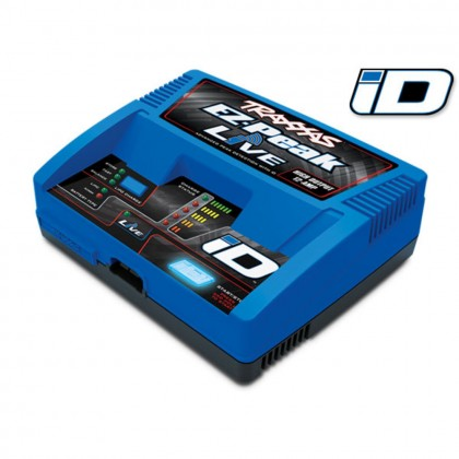 Traxxas Charger EZ-Peak Live 100W NiMH/LiPo with iD Auto Battery Identification (for United Kingdom) TRX2971TX