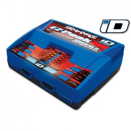 Traxxas EZ Peak Plus Dual Charger 100W NiMH/LiPo ID (UK) TRX2972T