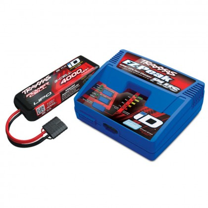 Traxxas Battery/charger completer pack (includes #2970 iD charger (1pc) #2849X 4000mAh 11.1v 3-Cell 25C LiPo Battery (1pc)) TRX2994