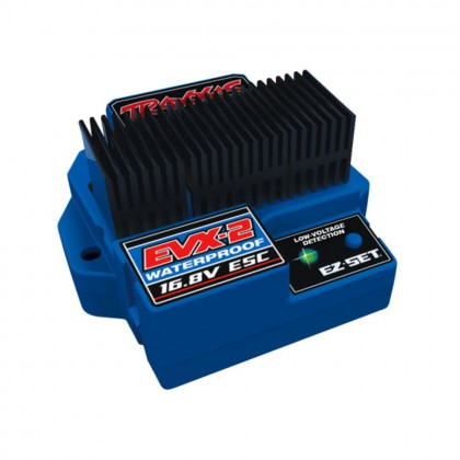Traxxas EVX-2 Electronic Speed Control (land version low-voltage detection forward/reverse) TRX3019R