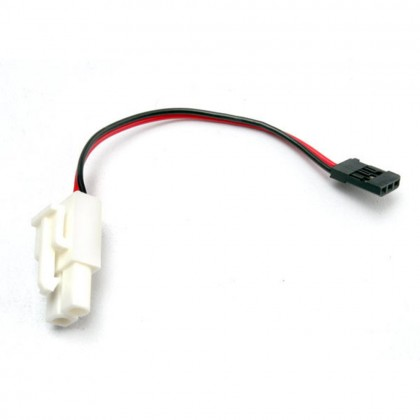 Traxxas Plug Adapter (For TRX Power Charger to charge 7.2V Packs) TRX3029