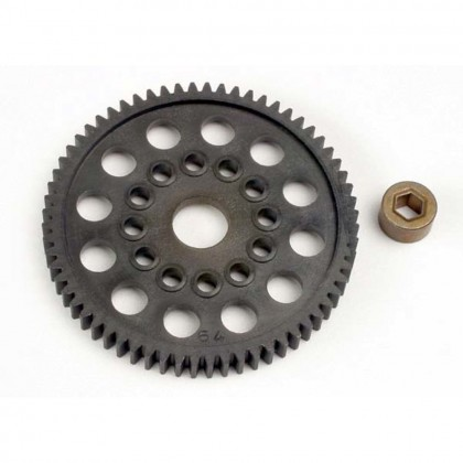 Traxxas Spur gear (64-Tooth) (32-Pitch) with bushing TRX3164