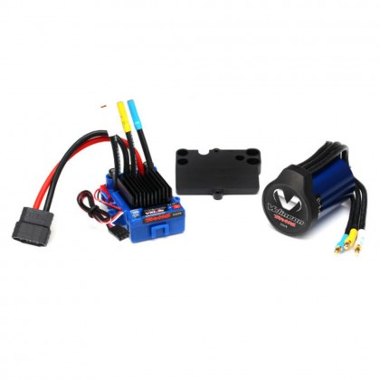 Traxxas Velineon VXL-3s Brushless Power System waterproof (includes VXL-3s waterproof ESC Velineon 3500 motor and speed control mounting plate (part #3725R)) TRX3350R