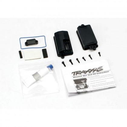 Traxxas Box receiver (sealed)/foam pad/2.5x8mm CS (4pcs)/3x10mm CS (2pcs) TRX3628