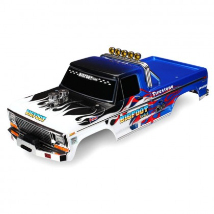 Traxxas Body Bigfoot Flame Officially Licensed replica (painted decals applied) TRX3653