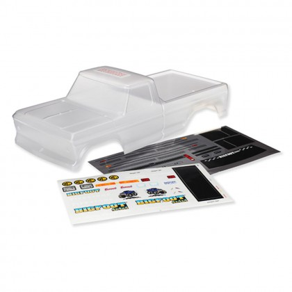 Traxxas Body Bigfoot No. 1 Officially Licensed replica (clear requires painting)/window masks/decal sheet TRX3660