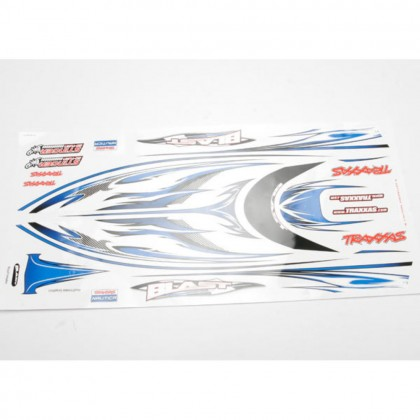 Traxxas Blast decal set (waterproof) TRX3814X