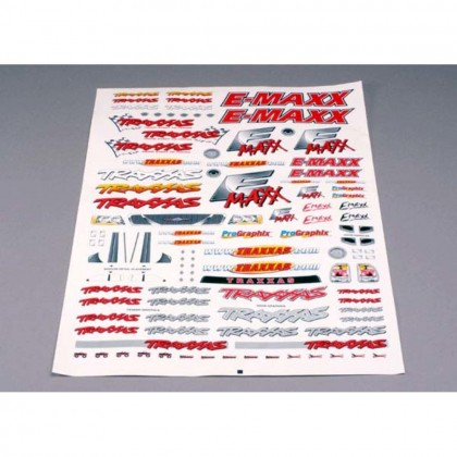 Traxxas Decal sheet E-Maxx TRX3913