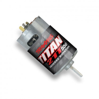 Traxxas Motor Titan 550 reverse rotation (21-turns/14 volts) (1pc) TRX3975R