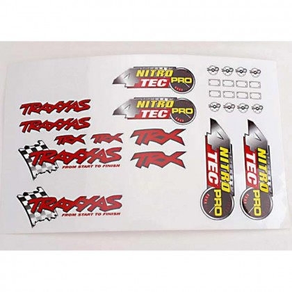 Traxxas Decal sheet Nitro 4-Tec Pro TRX4814