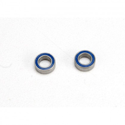 Traxxas Ball bearings blue rubber sealed (4x7x2.5mm) (2pcs) TRX5124