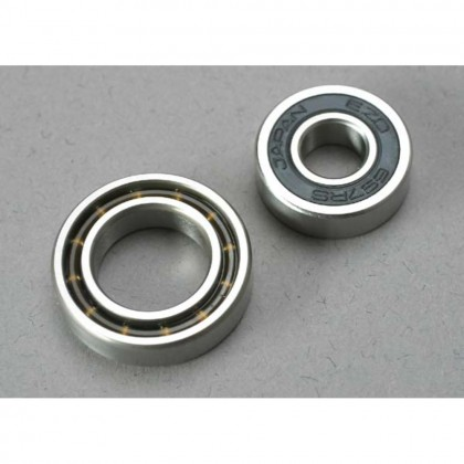 Traxxas Ball bearings 7x17x5mm (1pc)/12x21x5mm (1pc) (TRX 3.3 2.5R 2.5 engine bearings) TRX5223
