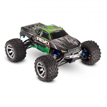 Traxxas Green Revo 3.3 1/10 Scale 4WD Nitro-Powered Monster Truck (with Telemetry Sensors) with TQi 2.4GHz Radio System Traxxas Link Wireless Module and TSM TRX53097-3-GRN