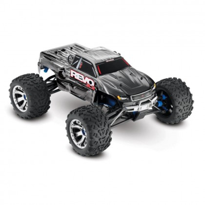 Traxxas Silver Revo 3.3 1/10 Scale 4WD Nitro-Powered Monster Truck (with Telemetry Sensors) with TQi 2.4GHz Radio System Traxxas Link Wireless Module and TSM TRX53097-3-SLVR