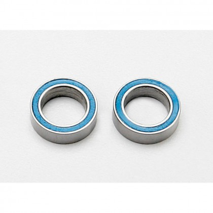 Traxxas Ball bearings blue rubber sealed (8x12x3.5mm) (2pcs) TRX7020