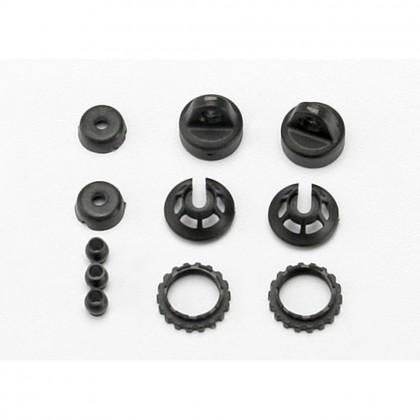 Traxxas Caps and spring retainers GTR shock (upper cap (2pcs)/hollow balls (4pcs)/bottom cap (2pcs)/upper retainer (2pcs)/lower retainer (2pcs)) TRX7065