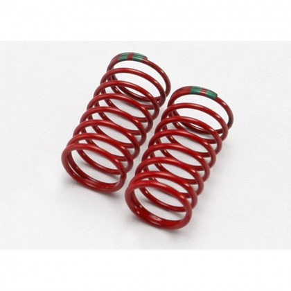 Traxxas Spring shock (GTR) (0.88 rate double green) (1 pair) TRX7141