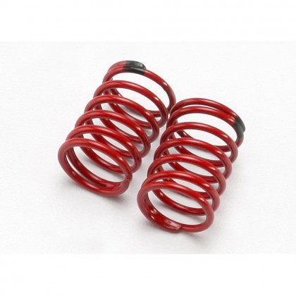 Traxxas Spring shock (GTR) (2.22 rate black) (1 pair) TRX7148