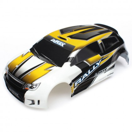 Traxxas Body LaTrax 1/18 Rally yellow (painted)/decals TRX7512