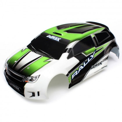 Traxxas Body LaTrax 1/18 Rally green (painted)/decals TRX7513