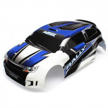 Traxxas Body LaTrax 1/18 Rally blue (painted)/decals TRX7514