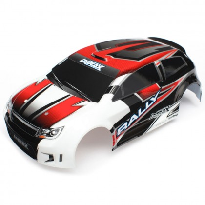 Traxxas Body LaTrax 1/18 Rally red (painted)/decals TRX7515