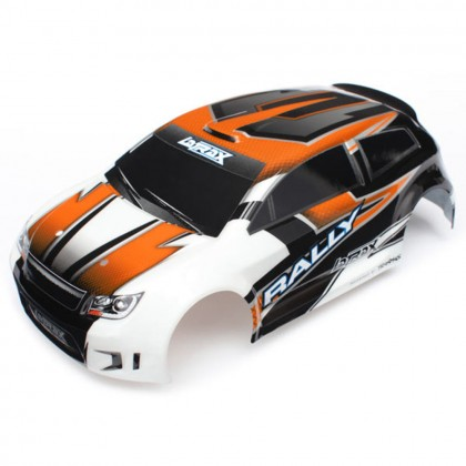 Traxxas Body LaTrax 1/18 Rally orange (painted)/decals TRX7517