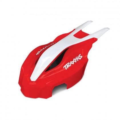 Traxxas Canopy front red/white Aton TRX7911