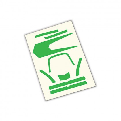 Traxxas Decals high visibility green TRX7983