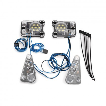 Traxxas LED headlight/tail light kit (fits #8011 body requires #8028 power supply) TRX8027