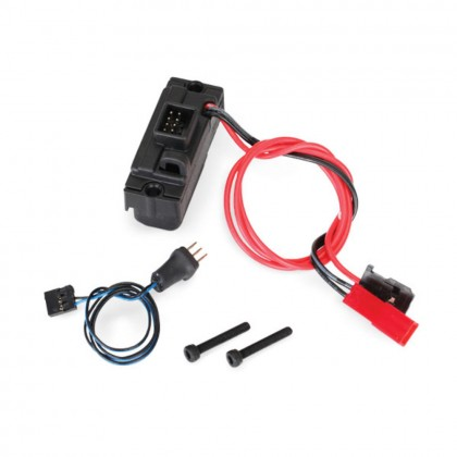 Traxxas LED lights power supply (regulated 3V 0.5-amp)/3-in-1 wire harness TRX8028