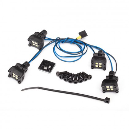 Traxxas LED expedition rack scene light kit (fits #8111 body requires #8028 power supply) TRX8086