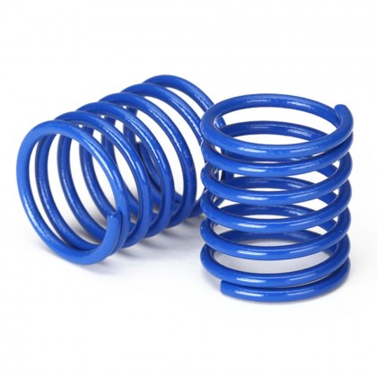 Traxxas Spring shock (blue) (3.7 rate) (2pcs) TRX8362X