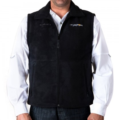 Horizon Cathedral Peak Vest Black Large HHD205L