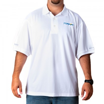 Horizon Perfect Case polo White Medium HHD209M