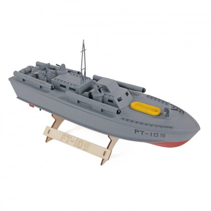 The Wooden Model Boat Company PT-109 Patrol Torpedo Boat Kit 400mm WBC1001