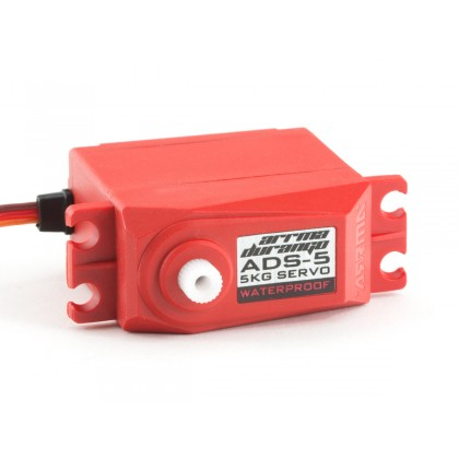 Arrma ADS-5 V2 4.5kg Waterproof Servo Red AR390133