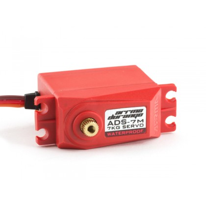 Arrma ADS-7M V2 6.5kg Waterproof Servo Red AR390136