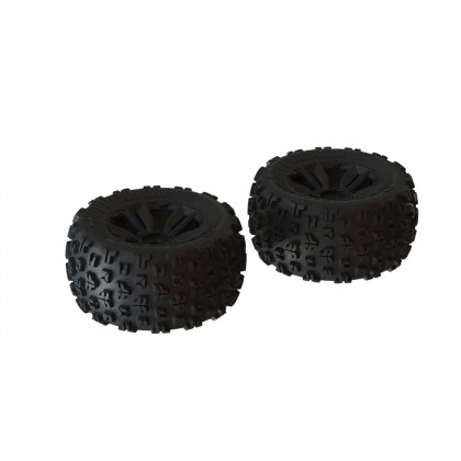 Arrma dBoots 'Copperhead2 MT' Tire Set Black - Pair ARA550059