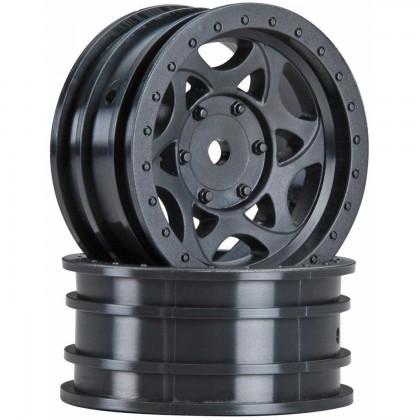 Axial 1.9 Walker Evans Street Wheel Black (2) AX08138