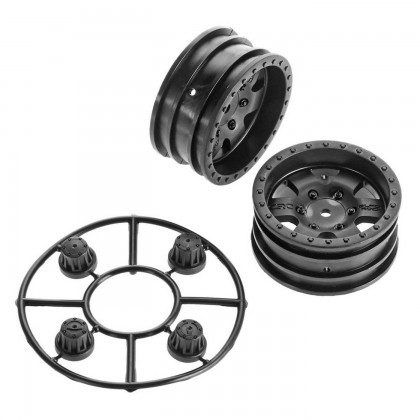 Axial 1.9 Black Rock CRC Wheels (2) AX31094
