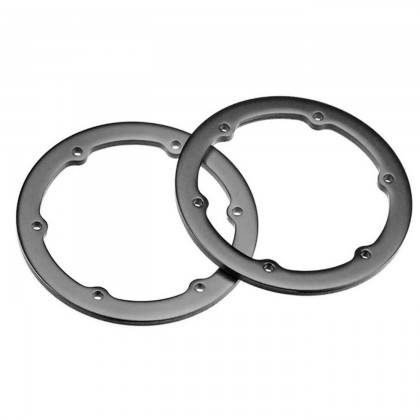 Axial 1.9 Beadlock Ring Grey (2) AX8122