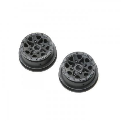Axial 1.2 1.55 Can-Am Maverick X3 Wheel (Black) (2pcs) AXI31595