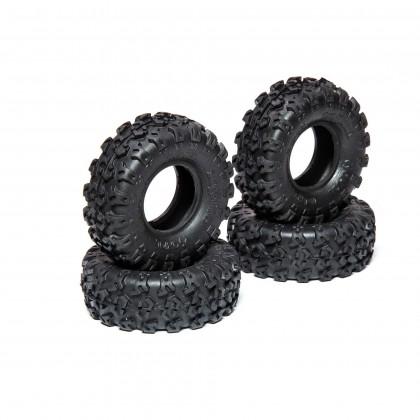 Axial 1.0 Rock Lizards Tires (4pcs): SCX24 AXI40003