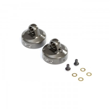 TLR 16mm Bleeder Shock Cap Aluminum (2): 8X TLR243040