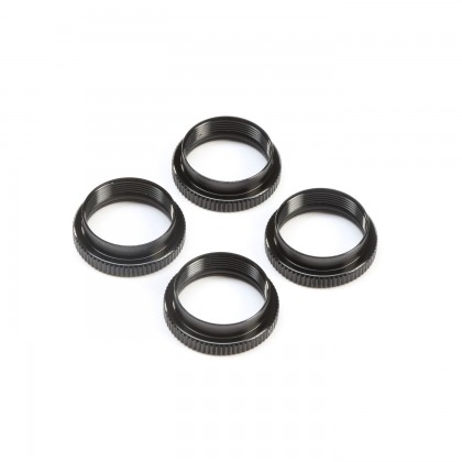 TLR 16mm Shock Nuts & O-rings (4): 8X TLR243045