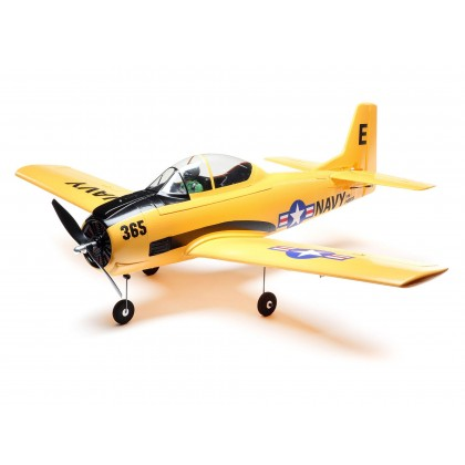 E-Flite T-28 Trojan 1.1m BNF Basic with AS3X and SAFE Select EFL08250