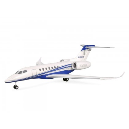 E-Flite UMX Citation Longitude Twin 30mm EDF BNF Basic with SAFE Select EFLU6350