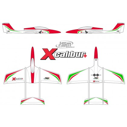 JSM Xcalibur+ Sport Scheme Package Jet JSM002/SPACK
