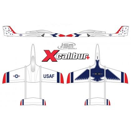 JSM Xcalibur+ Thunderbird Scheme Package Jet JSM002/TPACK